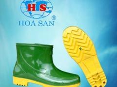 Ủng cao su nam thấp cổ Hoa San