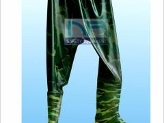 Ủng quần 01 lớp màu rằn ri- Hoa San