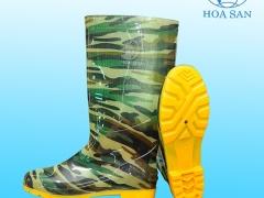 Ủng rằn ri đế vàng Hoa San